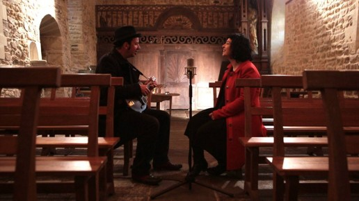 Session acoustique Thierry et Lili