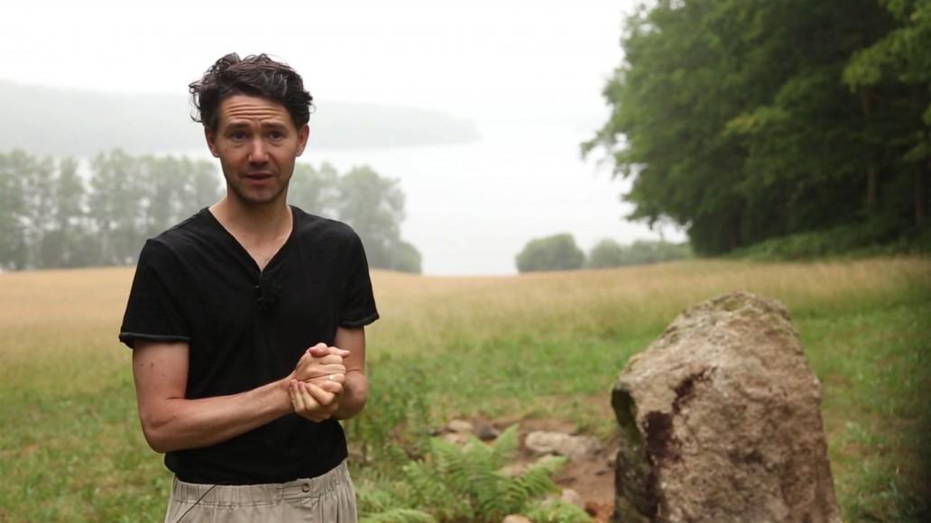 Reportage vidéo Land Art