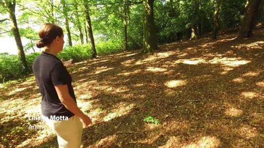 Land Art CNAP Liliana Motta Reportage
