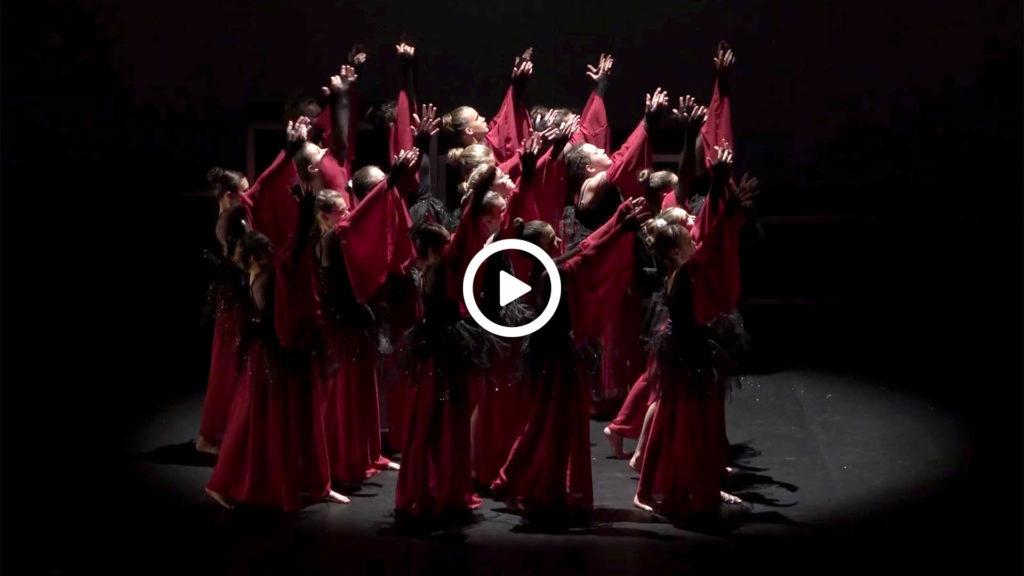 Captation vidéo spectacle danse